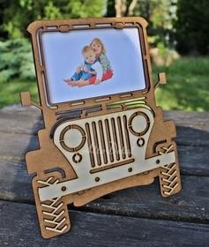 RAMKA zdjęcie AUTO samochód dekoracja pokój dzieci