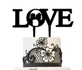 Topper Love z Parą Młodą