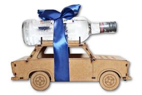 TRABANT wódowóz BAREK alkohol KARAFKA model