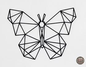 MOTYL geometryczna ozdoba ścienna tribal na ścianę ażur