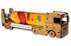 WÓDOWÓZ tir CIĘŻARÓWKA kierowcy URODZINY pudełko alkohol BAREK 40 18