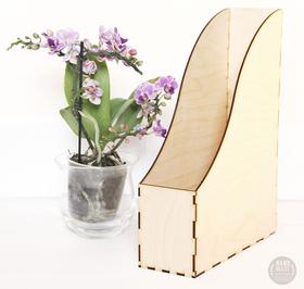 Organizer drewniany SEGREGATOR dokumenty dekor box handmade do dekorowania