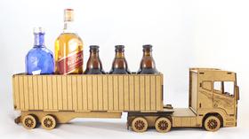 MAN DAF MERCEDES SCANIA tir WÓDOWÓZ urodziny piwo