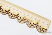 LINIJKA SZKOLNA KORONKOWA drewniana koronka z imieniem GRAWER laser PREZENT (2)
