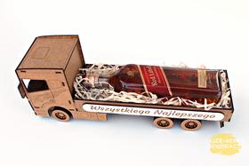 urodzinowy WÓDOWÓZ tir CIĘŻARÓWKA na alkohol 18 30 40 50 60 70 emerytura KAWALERSKIE party ręcznie składane