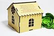 EMERYTURA prezent DOMEK SŁODYCZE pudełko życzenia upominek na emeryturę dla kolegi z pracy koleżanki (4)