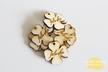 METKI wszywki ZAWIESZKA koniczyna LOGO drewniana (3)